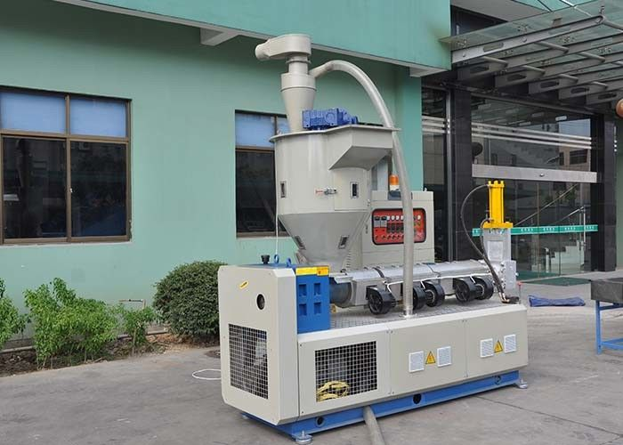 80-150kg/H Force Feeder Extruder For Plastic Recycling Machine Stainless Steel 3kw