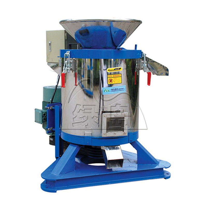 Plastic Flakes Plastic Dewatering Machine 11kw Low Noise Energy Conservation