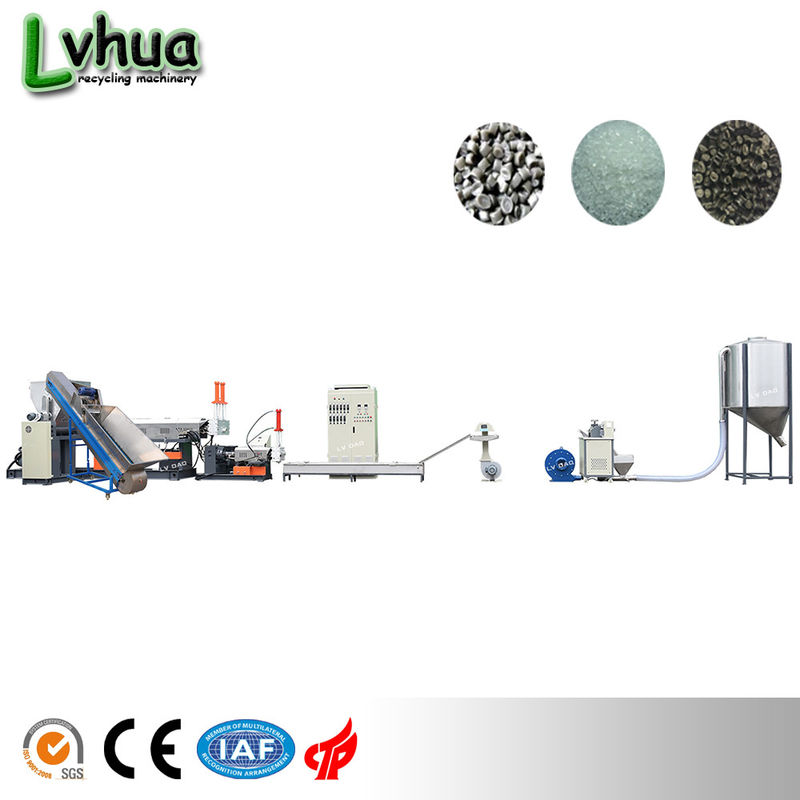 Special Screw Design Plastic Garbage Recycling Machine Plastic Recycling Unit